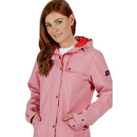Regatta Bertille Chaqueta Impermeable Mujer, rosa